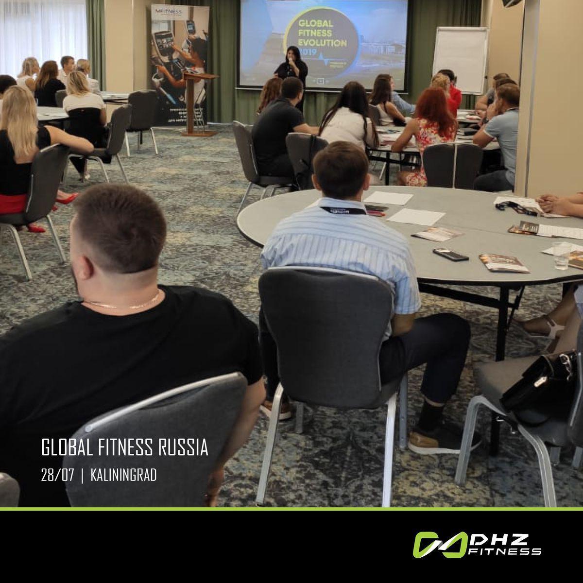 28 июля в Калининграде прошел очередной отраслевой бизнес-форум #GlobalFitnessRussia, партнером которого является DHZ Fitness