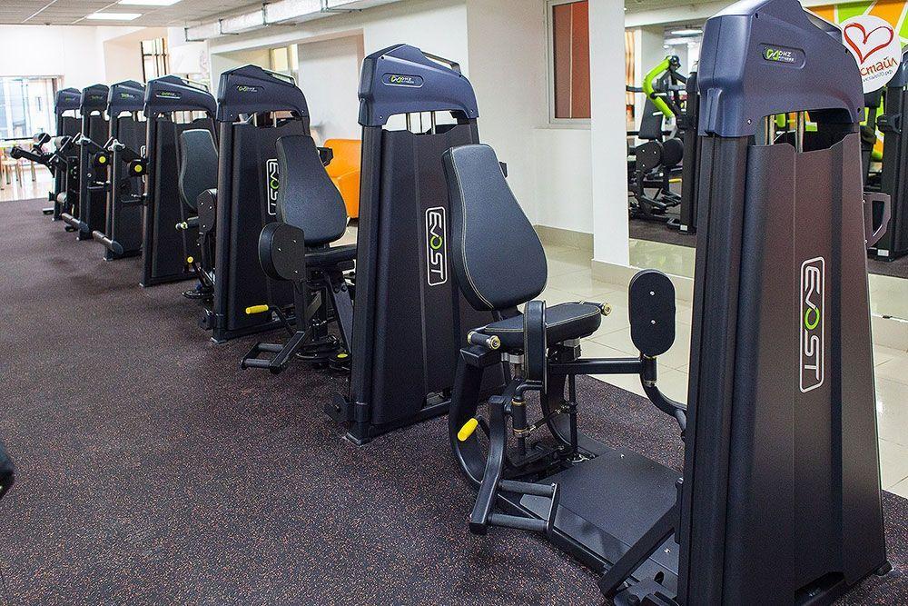 профессиональное оборудование для спортзала, оборудование для фитнес центра, оборудование для спортивного клуба