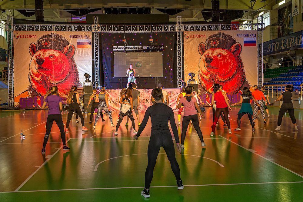 В минувшие выходные в г. Новосибирск состоялась крупнейшая за Уралом фитнес-конвенция ШТОРМ by ITS!